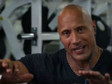 <i>Baywatch</i>'s Dwayne 'The Rock' Johnson Just Watched His First WWE Match
