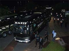 England Cricketers Arrive in Bangladesh Amid Tight Security