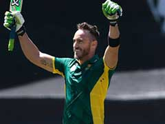 Faf du Plessis First To Score Ton In All Formats At Same Venue