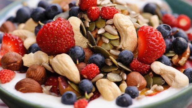 fruit and nut toppings