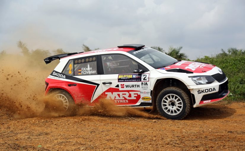 Gaurav Gill Seals 2016 Asia Pacific Rally Championship With Malaysian Rally Win