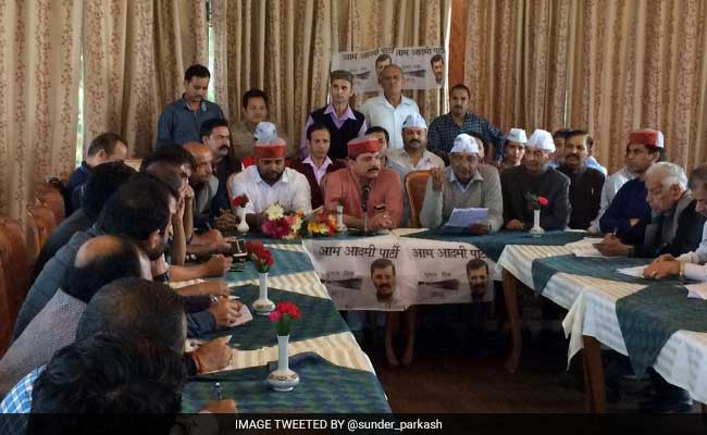 Breakaway Group Of Himachal Lokhit Party Merges With AAP In Himachal