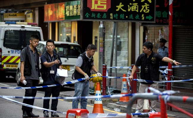 Hong Kong Police Fire Shots In Knife Attack, Three Injured