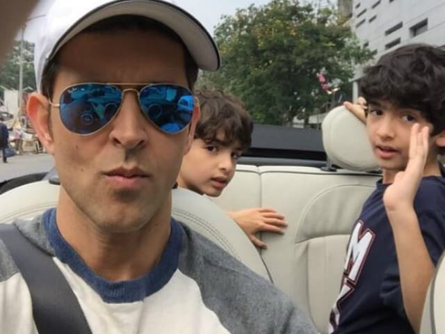 Hrithik and Sons Star in Family Pic For Rakesh Roshan's Twitter Debut