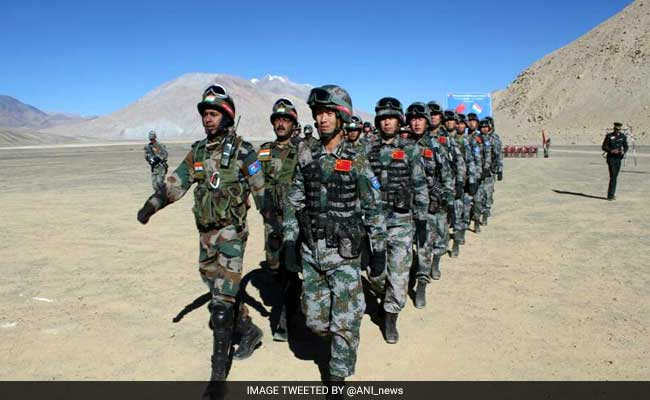 India-China Joint Military Training Exercise From Tomorrow