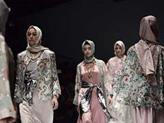 Indonesian Muslim Designer's Hijab Collection Proves Divisive