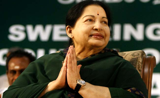 Jayalalithaa's Hospital Bill Rs 6.85 Crore, Rs 1.17 Crore Spent On Food