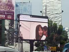 Porn Film Plays On Jakarta Billboard During Rush Hour, Police Order Probe