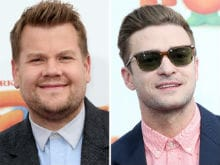 James Corden Is 'Desperate' To Get Justin Timberlake On <i>Carpool Karaoke</i>