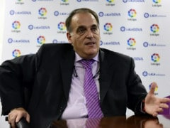 Barcelona Report 'Irresponsible' La Liga Chief Javier Tebas