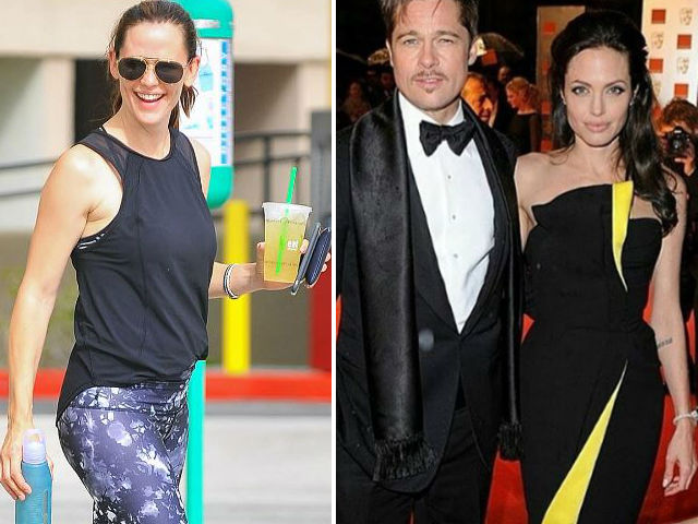 Jennifer Garner Has Found Some Humour In Brad Pitt - Angelina Jolie Split