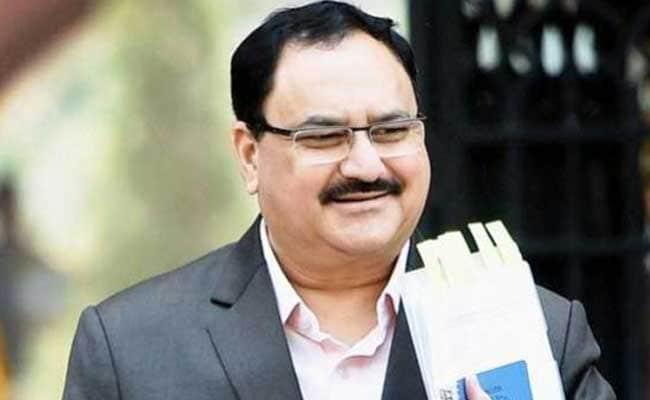 Leaders Meet At BJP Headquarters Ahead Of JP Nadda's Election As Party President