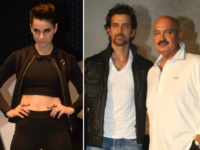 How Kangana Ranaut Reacted to Rakesh Roshan's 'Spreading Lies' Comment