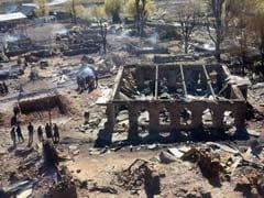 जम्मू के किश्तवाड़ के जंगलों में आग, वारवन का सुखनोई गांव तबाह