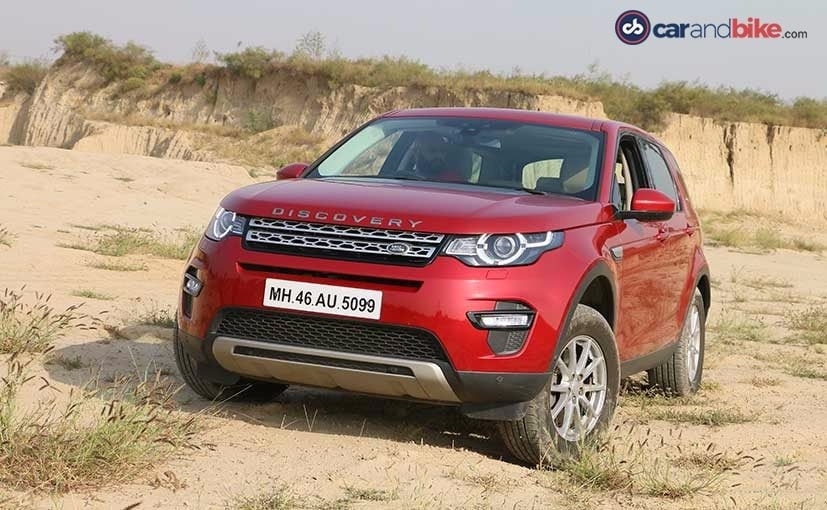 land rover discovery sport front quarter