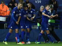 Champions League: Leicester City Maintain Perfect Record, Real Madrid Win Big