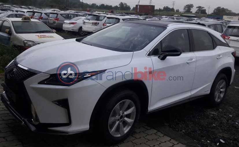 Lexus RC-F Coupe And RX SUV Spotted In India Ahead Of Launch