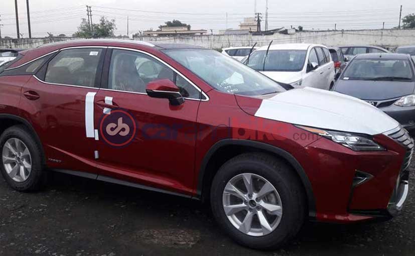Lexus RX 450h Spotted