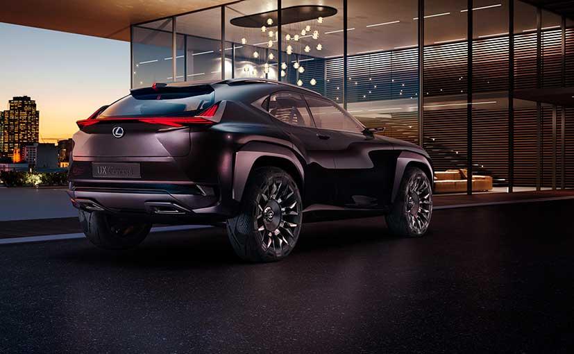 Lexus UX Concept Rear