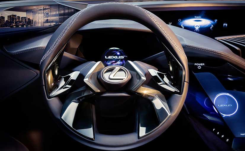 Lexus UX Concept Steering Wheel