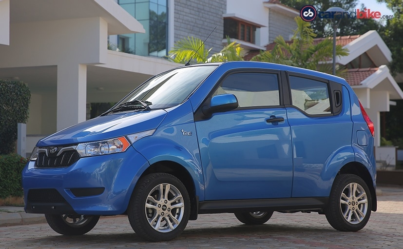 GST Impact  - mahindra e2o plus is the 4 door version of the e2o