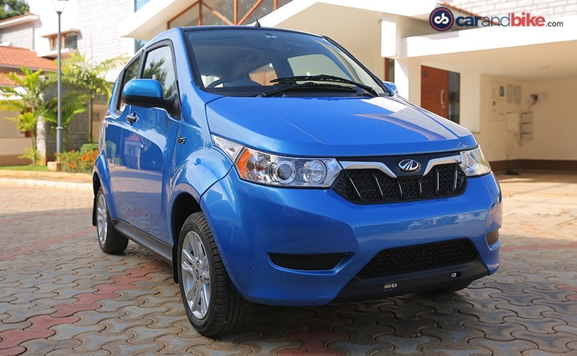 Mahindra e2oPlus Electric Car Launched In India; Prices Start At &#8377 5.46 Lakh