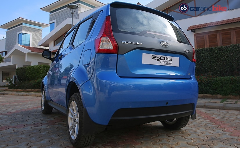 Mahindra e2o Plus Rear