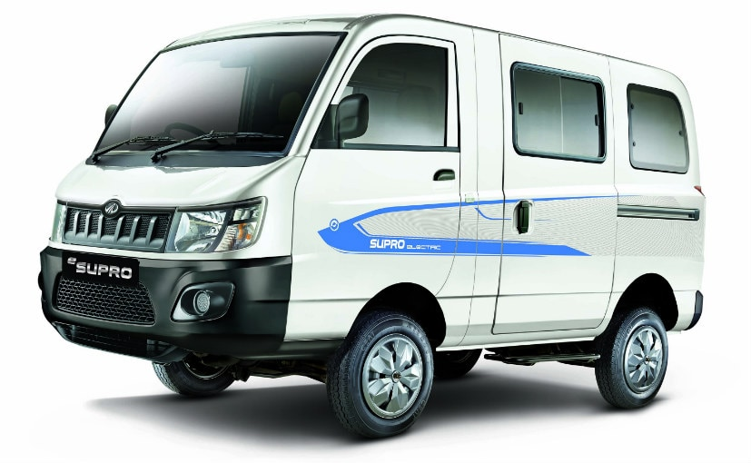 c7ef71f81945d8 Mahindra Launches eSupro Electric Van At Rs. 8.45 Lakh - NDTV CarAndBike