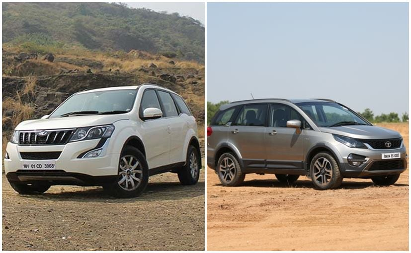 Tata Hexa Vs Mahindra Specifications Comparison Ndtv