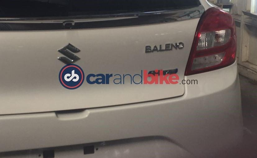 Maruti Suzuki Baleno SHVS Badging