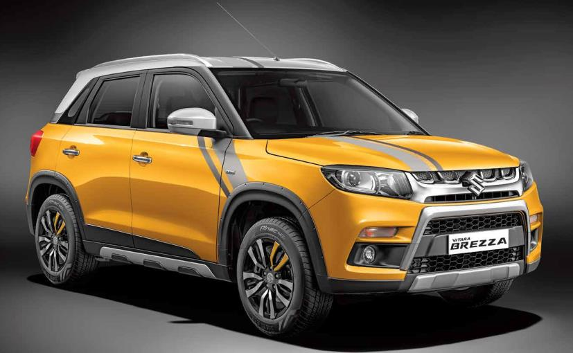 Maruti Suzuki Vitara Brezza Icreate Introduces Customisation Program For