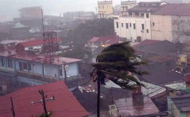 Matthew Lashes Haiti, Hits Eastern Tip Of Cuba