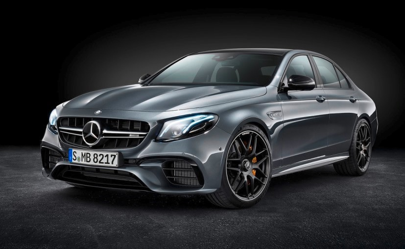 Mercedes-AMG E63 And E63 S Sedans Revealed With 4Matic AWD System And Drift Mode