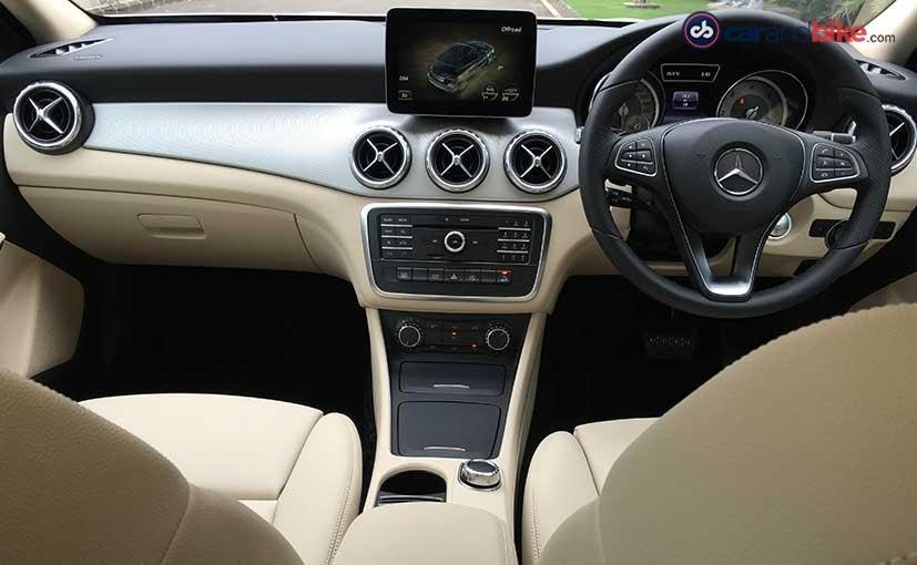 Mercedes-Benz GLA 4Matic Cabin