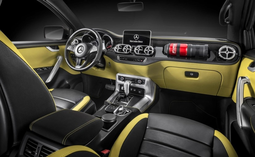 Mercedes-Benz X-Class Pick-Up Concept Revealed; Will Be ...