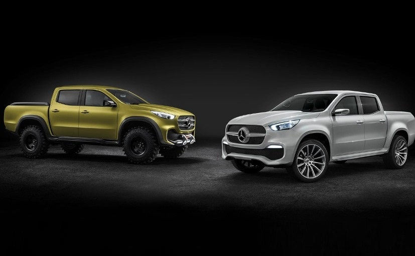 mercedes benz x class pick up concept revealed will be