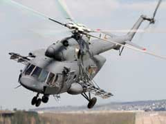 Air Force's MI-17 Helicopter Crash-Lands In Uttarakhand's Chamoli District