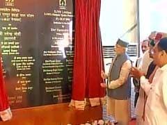 PM Narendra Modi Dedicates 3 Hydroprojects To Nation In Himachal Pradesh