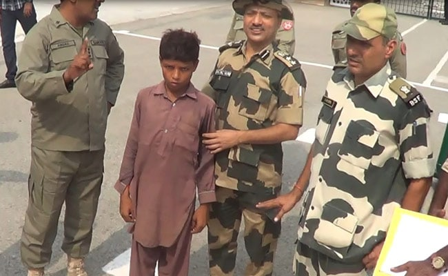 India Returns 12-Year-Old Pakistani Boy Who Crossed Border To Drink Water
