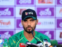 No Apology For England Says Bangladesh Captain Mashrafe Mortaza