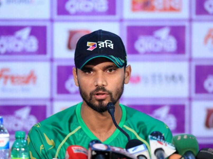 No Apology For England Says Bangladesh Captain Mashrafe Mortaza