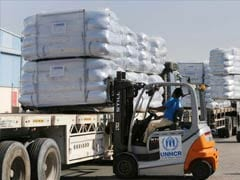 UN Refugee Agency Shipping Aid To Iraqis Displaced By Mosul Campaign