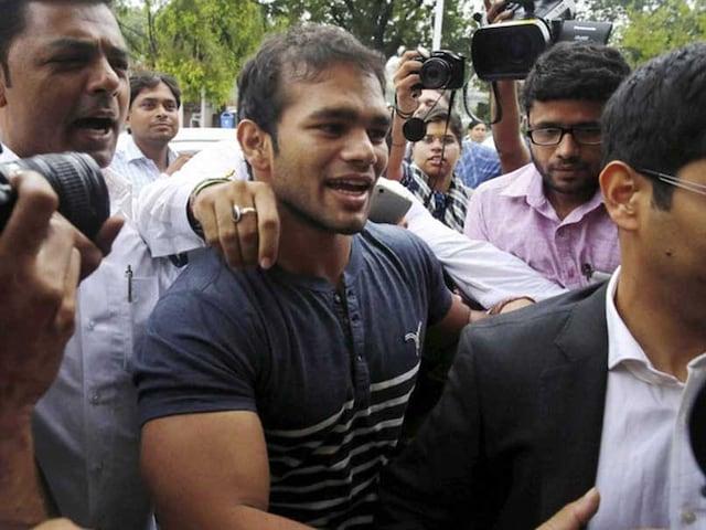 Wrestler Narsingh Yadav Records Statement With CBI In Doping Case