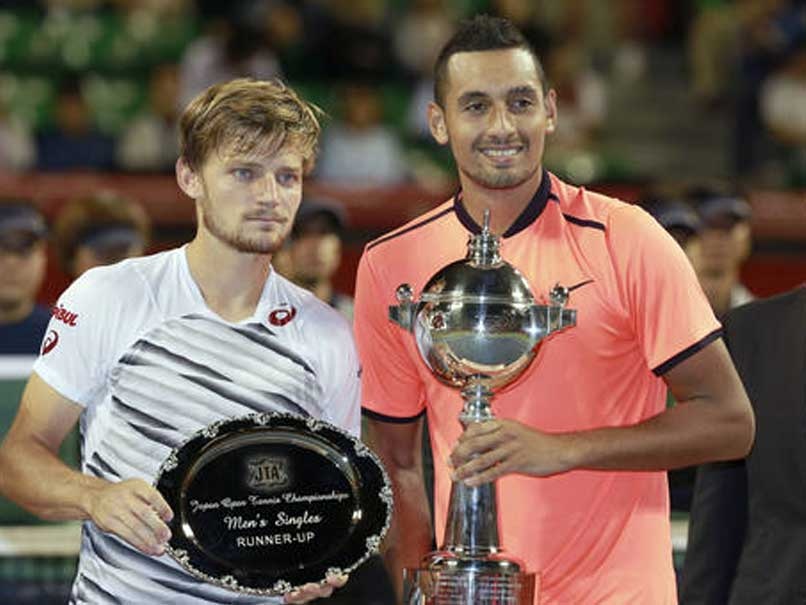 Nick Kyrgios Beats David Goffin to Lift Japan Open Title
