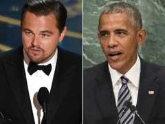 Leonardo DiCaprio, Barack Obama To Talk Climate Change