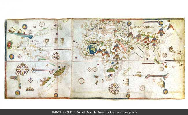 The Oldest Map Of New York Is Drawn On Goat Skin, Costs $10 Million