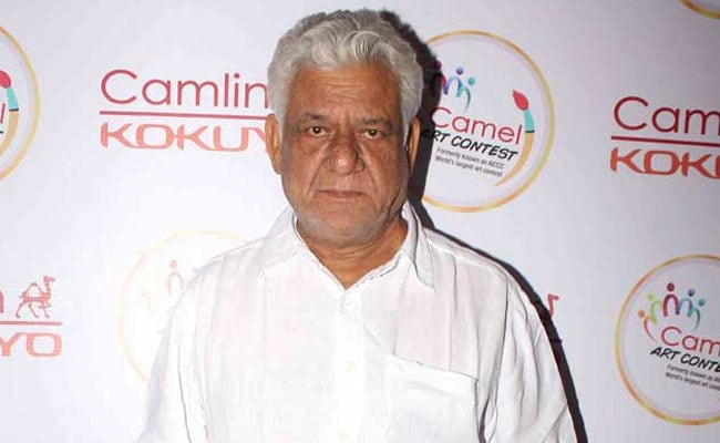 Om Puri Accused of Insulting Soldiers, Complaint Filed