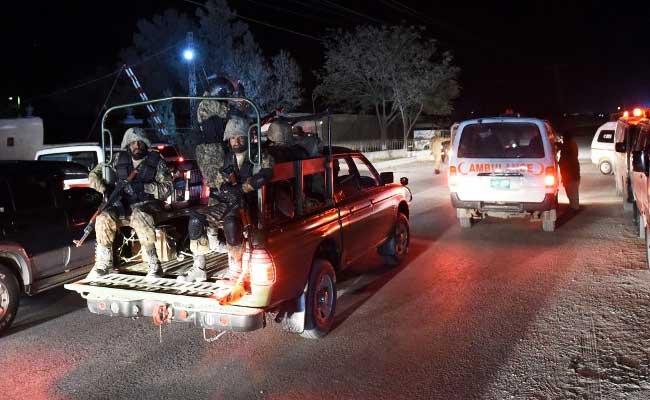 पाकिस्तान: क्वेटा में पुलिस प्रशिक्षण अकादमी पर हमला, 61 लोगों की मौत, जिनमें ज्यादातर कैडैट