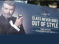 "Pierce Brosnan Says He Was ""Cheated"" By Pan Masala Brand"