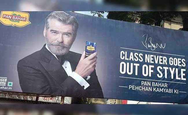 Pierce Brosnan In Pan Bahar Ad Has Everyone Talking, Bond Fans Shaken